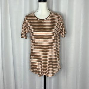 Madewell Muted Shell Striped Tee